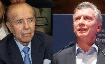 Macri ya no oculta nada y reivindicó a Menem   Elecciones 2021