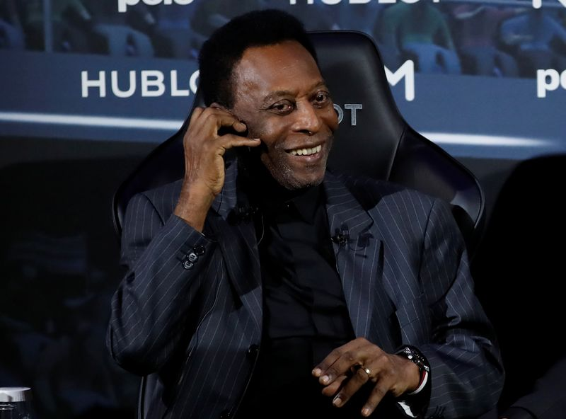 Pelé reúne a estrellas del deporte para subasta benéfica   Fútbol