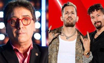 La feroz crítica de Oscar Mediavilla sobre Mau y Ricky en La Voz    La voz argentina