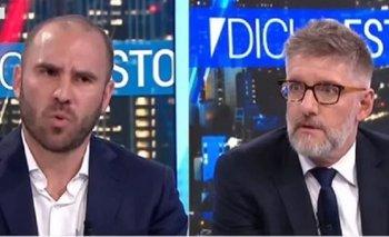 Guzmán desmintió a Macri y dejó mal parado a Novaresio en vivo   Deuda externa