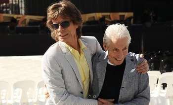 Mick Jagger recordó a Charlie Watts con un conmovedor tuit   Murió charlie watts