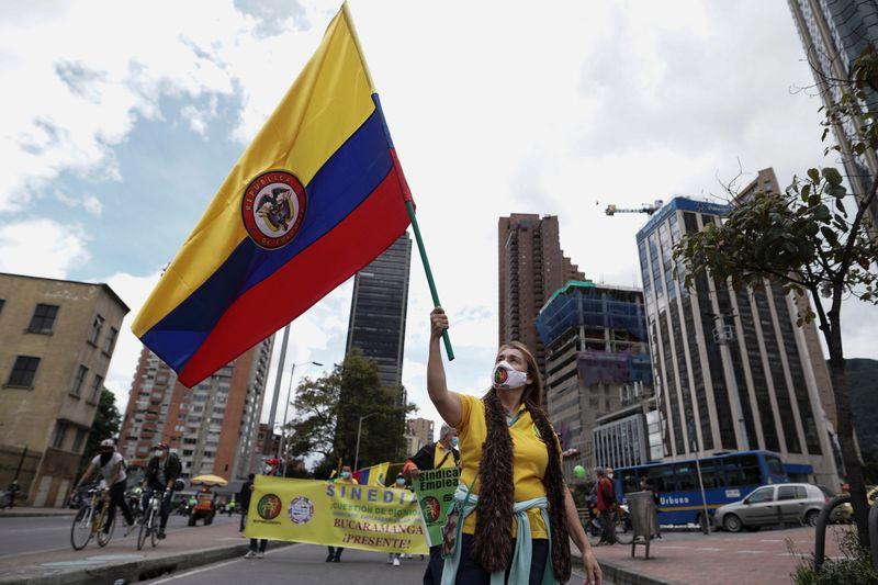 Multitudinarias marchas en Colombia por cambios económicos y sociales   Protestas