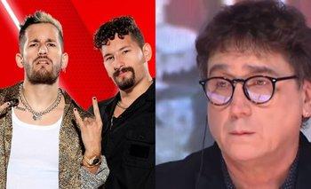 """Oscar Mediavilla se disculpó con Mau y Ricky: """"Hablé al pedo""""   La voz argentina"""