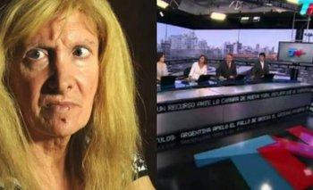 Papelón en vivo: un periodista de TN se burló de Zulma Lobato | Tn