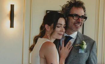 La llamativa boda de Micaela Breque con un artista británico | Farándula