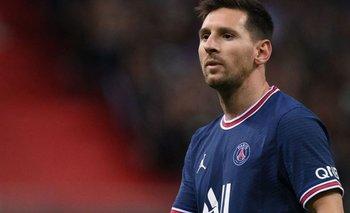 El tierno gesto de Messi con un rival en su debut en el PSG   Liga de francia
