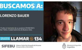 Buscan a Lorenzo Bauer, el sobrino del ministro de Cultura  | Desaparición