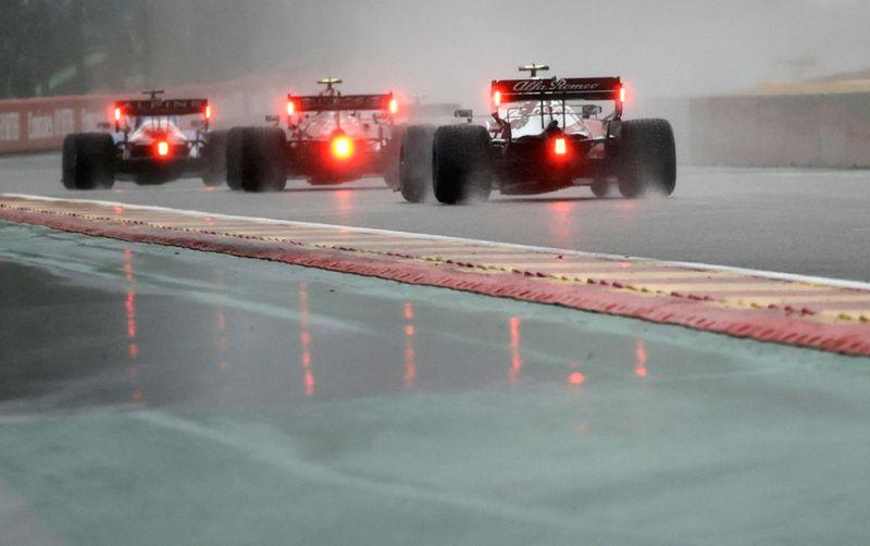"""Fórmula Uno recibe aluvión de críticas tras farsa de """"carrera"""" en Bélgica   F1"""