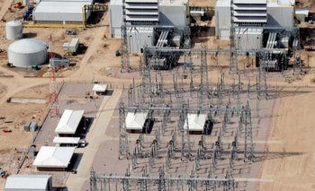 Primer fuego con gasoil y sincronización de la turbina 2 de la Central Termoeléctrica Guillermo Brown | Ministerio de planificación
