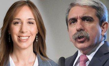 Una encuesta ubica a Aníbal Fernández por encima de María Eugenia Vidal   María eugenia vidal