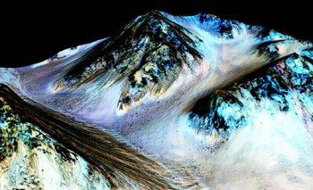 La NASA encontró agua líquida en Marte | Marte