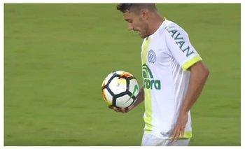 VIDEO: La emoción de un sobreviviente de la tragedia de Chapecoense tras meter un gol | Fútbol