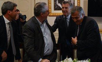 Quiénes son los gobernadores que se bajaron del encuentro con Macri por el presupuesto   Presupuesto 2019