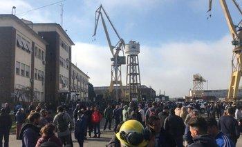 Tensión en el Astillero Río Santiago | Los trabajadores reclaman por la falta de insumos | El destape radio