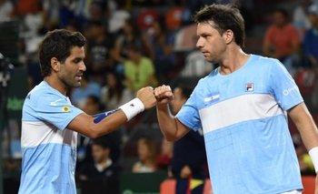 Argentina venció a Colombia en el dobles y será cabeza de serie del Grupo Mundial de la Davis | Copa davis
