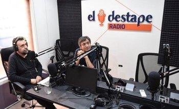 Así fue el comienzo de El Destape Radio con Roberto Navarro | Mauricio macri