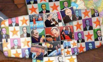 Putin y Cristina son la nueva cara de un popular chocolate ruso | Vladimir putin