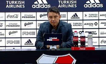 La pregunta que hizo enojar a Gallardo en conferencia de prensa | River vs flamengo