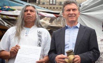 Reapareció Félix Díaz con un reclamo para Macri | Elecciones 2019