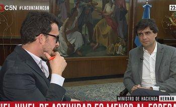 Lacunza prometió que no habrá un corralito y reveló que el cepo lo aprobó el FMI | Cepo al dólar