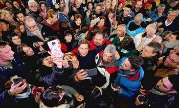 """Kicillof recorrió Mar de Ajó: """"Las elecciones fueron un shock de esperanza""""   Elecciones 2019"""
