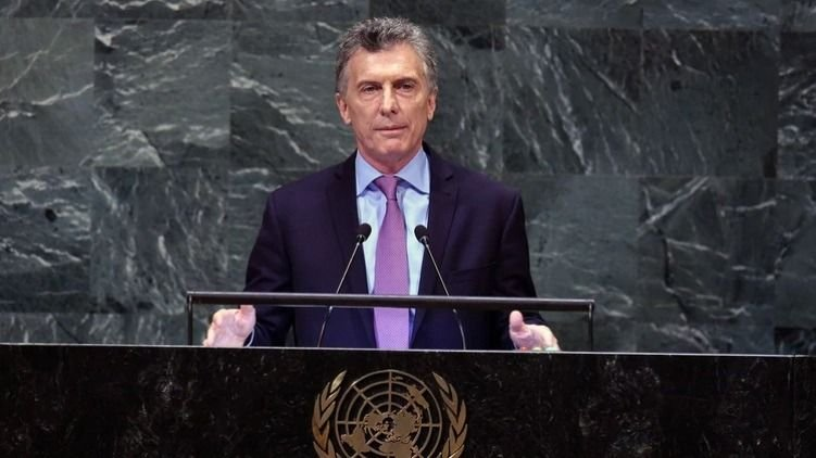 Macri hablará en la Asamblea General de la ONU
