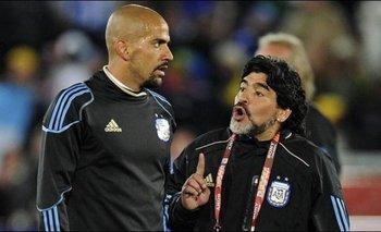 La anécdota que contó Verón y que lo une con Maradona en la época de Boca