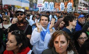 Día del Maestro: CTERA realiza una jornada de protesta frente al Cabildo  | Ctera