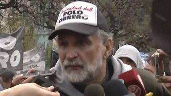 """Manifestante apuntó contra Bullrich tras la represión: """"Dice pavadas por televisión""""   Emergencia alimentaria"""