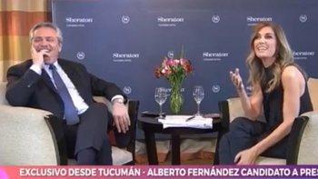 El chiste de Alberto Fernández a Massa en el programa de Viviana Canosa   Televisión