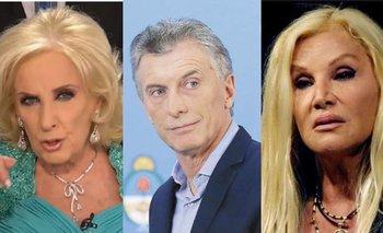 Macri pidió a Susana y Mirtha que bajaran una invitación a Cristina | Intratables