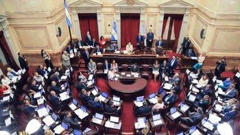 El Senado se quedó sin luz a poco de comenzar con la jura | Congreso