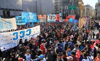Acampe: terminó la protesta frente al Ministerio de Desarrollo Social  | Emergencia alimentaria