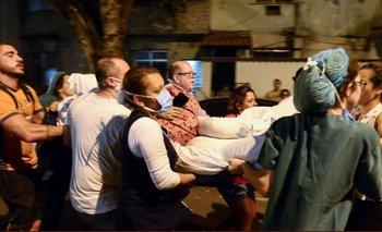 Once personas murieron en el incendio de un hospital de Río  | Brasil