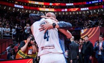 Mundial de básquet: el emotivo abrazo de Ginóbili y Scola | Básquet