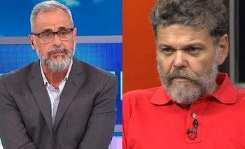 Tenso cruce entre Alfredo Casero y Jorge Rial   Cruce