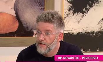 Novaresio habló sobre su declaración de amor, el acoso de los medios y su familia   Luis novaresio