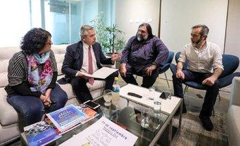 Alberto Fernández se comprometió a reabrir la paritaria nacional docente | Elecciones 2019