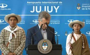 A Mauricio Macri le sonó el celular en pleno discurso | En vibrador, mauri