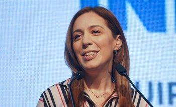 Como Macri, reapareció María Eugenia Vidal | Juntos por el cambio