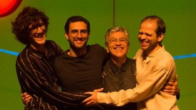 El video del encuentro de Charly García con Caetano Veloso — Reunión cumbre