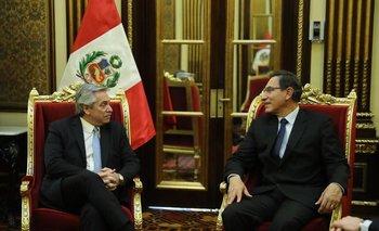 Fernández fortalece los lazos con la región: se reunió con el Presidente de Perú | Elecciones 2019