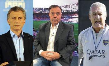 El insólito comentario de Marcelo Palacios para hablar de Boca y Macri | Elecciones 2019