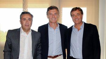 Macri felicitó a Suárez y busca subirse al triunfo radical en Mendoza | Macri presidente