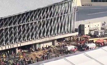 La obra en el Aeropuerto de Ezeiza había sido denunciada por serias irregularidades | Tragedia en ezeiza
