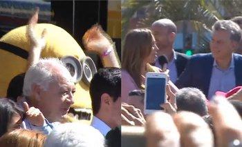 Insólito: a un día de la tragedia de Ezeiza, Vidal y Macri festejaron con un Minion | Tragedia en ezeiza