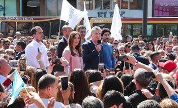 La puesta en escena de Macri y Vidal en Florencio Varela | Elecciones 2019