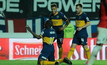 Bochornosa chicana de un jugador de Boca sobre los visitantes   Superliga argentina
