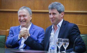 Schiaretti mostró un fuerte respaldo a Uñac, pero evitó hablar de Fernández | Elecciones 2019