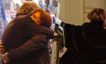 La emotiva imagen de Cristina en la Casa Rosada | Casa rosada